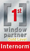 Internorm Window Partner Gold Level